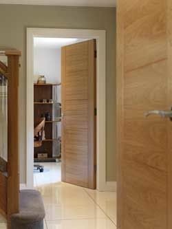 Tigris Oak contemporary internal door